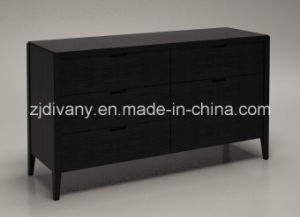Italian Modern Style Home Wooden Drawer Cabinet (SM-D33) pictures & photos