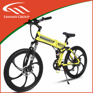 Fashion Model E-Bike with Lithium Battery Brushless Motor pictures & photos