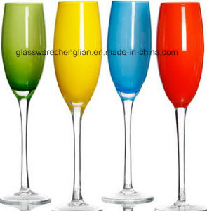 Various Solid Color Champagne Glass (B-WG040) pictures & photos