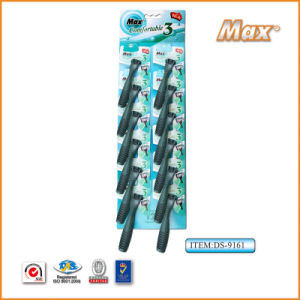 Plastic Platinum Coated Triple Stainless Steel Blade Disposable Razor (DS-9161)) pictures & photos