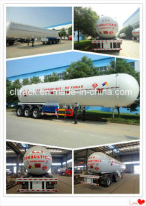 ASME Standard 3 Axle 20mt Payload LPG Tanker Semi Trailer pictures & photos