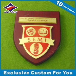 Wholesale Singapore Wood Shield Plaque pictures & photos