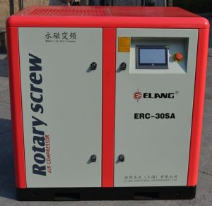 100HP 75kw Screw Air Compressor with High Frequecny Inverters
