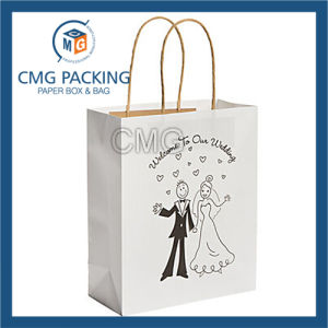 Customized Man Printing Wedding Paper Bag (DM-GPBB-152) pictures & photos