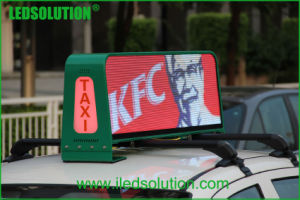 LEDSOLUTION P5 High Brightness 3G Taxi Top LED Display pictures & photos
