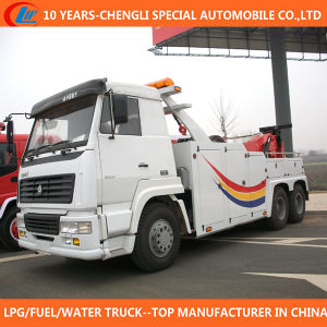 6X4 Towing Truck 25ton Towing Wrecker Truck for Sale pictures & photos