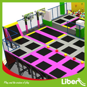 Indoor Type Large Dodgeball Gymnastic Air Trampoline Park pictures & photos