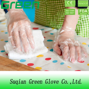 Plastic Disposable Chemical Resistant Gloves pictures & photos
