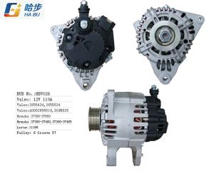12V 120A Alternator for Valeo Hyundai Lester 11188 2655524 37300-37800 pictures & photos