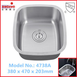 Stainless Steel Basin with Cupc Approved, Kitchen Sink, Bar Sink (4738) pictures & photos