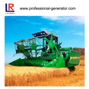 Water Cooling Full Hydraulic Rice Combine Harvester pictures & photos