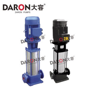 Gdl Vertical Multistage Pipeline Stainless Steel Centrifugal Pump