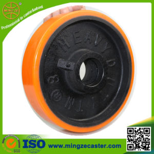 Yellow Tire Heavy Duty PU Wheels pictures & photos