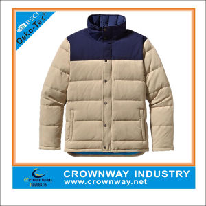 Warm Quilted Duck 100% Traceable Down Jacket for Men pictures & photos