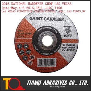 Flat Thin Cutting Disc for Inox 100X1X16 pictures & photos