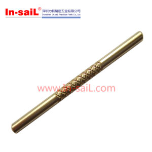 Round Straight Brass Knurled Pins 20mm pictures & photos