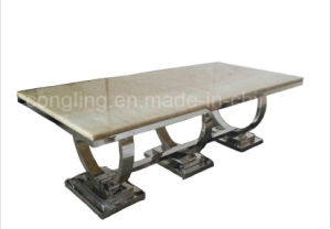 Modern Design Top Marble Dining Room Furniture for Sale A8026