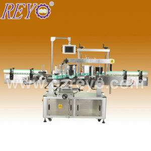 High Efficient Lower Power Single Round Bottle with Automatic Labeling Machine
