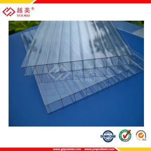 ISO SGS Approve Clear Polycarbonate Hollow Sheet PC Sun Sheet for Building Material pictures & photos
