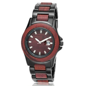 New Environmental Protection Japan Movement Fashion Wood-Steel Watch Bg307 pictures & photos