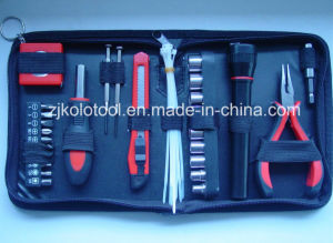 Cheap 36PC Mini Hand Repair Tool Set with Flashlight for Promotion pictures & photos
