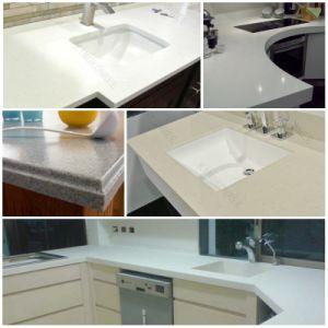 china customized man made stone quarzt countertops for bathroom china quarzt countertops