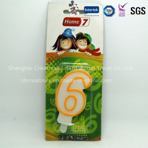 Top Quality Competitive Price Eco-Friendly Wax Decorative Beautiful Candle Birthday pictures & photos