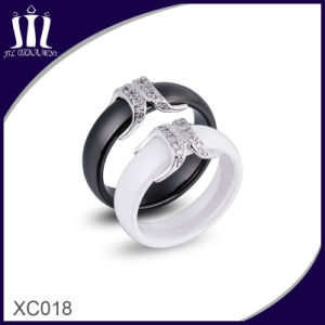 Xc018 Fashion Ceramic Moustache Lover Rings pictures & photos