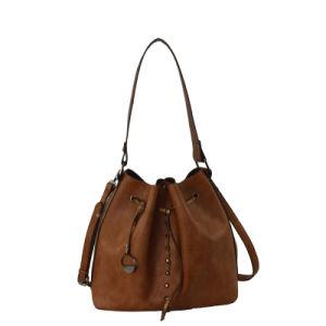 Nice Bucket PU Handbag for Young Lady, Fashion Handbag (ZXL1618-2) pictures & photos