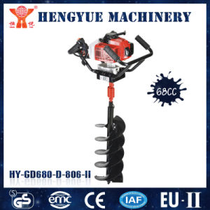 68cc Ground Hole Drilling Machines pictures & photos