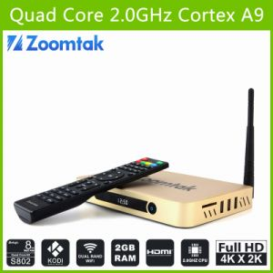 Dual Band WiFi Amlogic S802 TV Box with Ota Updater Zoomtak T8 pictures & photos