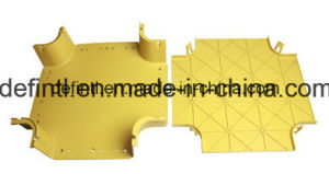 Plastic Extrusion for Fiber Optic Cable Duct Raceway pictures & photos