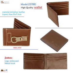 Faux Leather Custom Men Wallet (2378R1) pictures & photos