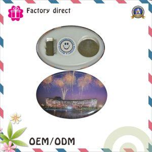 Custom Bottle 93*63mm Oval Shape Magnetic Bottle Opener pictures & photos