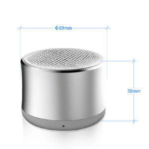 Portable Wireless Bluetooth Mini Speaker with Metal Cover pictures & photos