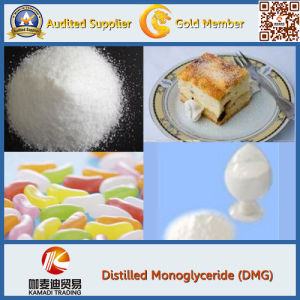 Food Additive Distilled Monoglycerides (Distilled Glycerin Monostearate) Gms-98, Dmg for Bread Improver pictures & photos