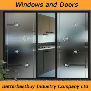 Brozen Color Aluminum Door with Kinglong Hardware pictures & photos