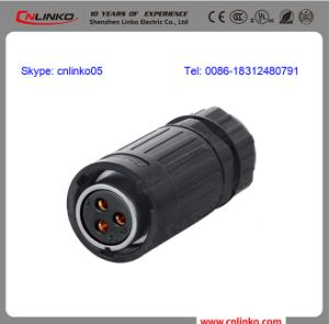 3 Pin IP65 Waterproof Connector pictures & photos