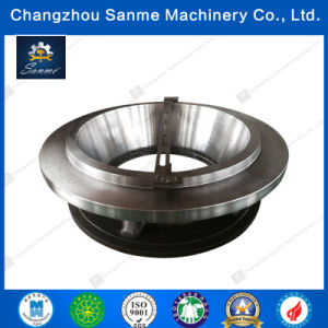 OEM Steel Casting CNC Machined Cooling Jacket for Cruher
