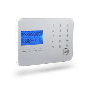 Multi Language Wireless Home GSM Alarm System with Big LCD Display (Support APP) pictures & photos