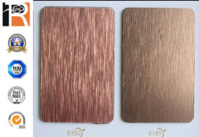 Brushed Metal High Pressure Laminate pictures & photos