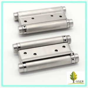 Stainless Steel 201 Spring Hinge/ 4-Inch (1.5mm) Double Action Spring Hinge