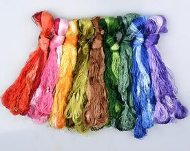 100% Cotton Thread for Embroidery pictures & photos