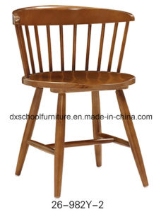 Characteristical Solid Wood Peacock Chair for Dining Room pictures & photos
