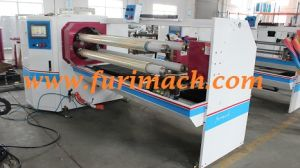 Double Shaft Tape Roll Automatic Cutting Machine for BOPP Adhesive Tape/PVC/PE pictures & photos