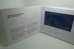 HD Screen Video Brochure - Video Card pictures & photos