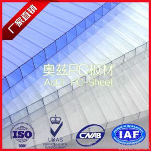 100% Virgin Bayer PC Raw Material Twin-Wall Polycarbonate Sheet pictures & photos