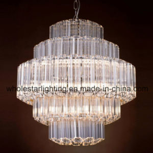 Round Glass Tube Chandelier Lamp (WHG-8184) pictures & photos