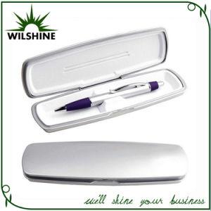 Plastic Silver Pen Box for Single Pen Set (BX025) pictures & photos