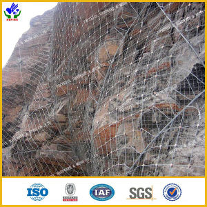 High Tensile Strength Rockfall Netting (HPPM-0807) pictures & photos